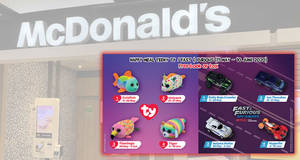 McDonald's latest Happy Meal toys features characters from Teeny Ty / Fast & Furious (11 May – 10 June 2020)
