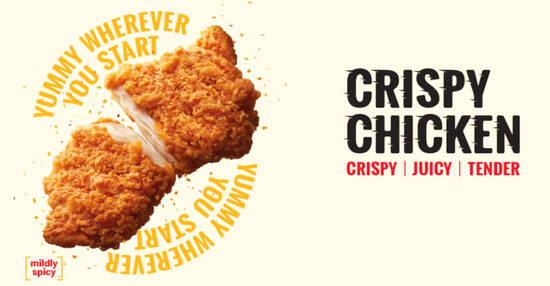Featured image for McDonald's brings back Crispy Chicken and Coconut Pie (From 21 May 2020)