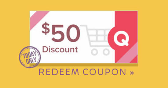 Featured image for Qoo10: Grab free $50 cart coupons (usable with min spend $500) valid on 10 August 2020