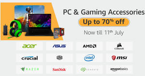 Featured image for Amazon SG is having an Up-to-70%-off PC & Gaming Accessories Sale till 11 July 2020