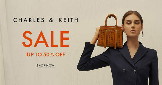 Featured image for Charles & Keith Up to 50% Off Summer End Season Sale (From 16 June 2020)