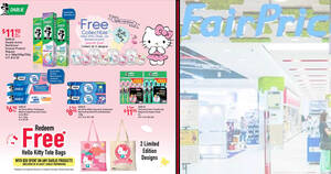 Featured image for Redeem free Hello Kitty Tote Bags when you spend $20 on any Darlie products at NTUC FairPrice till 9 July 2020