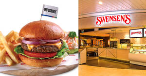 Featured image for Swensen's: Free IMPOSSIBLE™ Burger (U.P. $14.90+) with a minimum of $50 spent on in-store takeaways (19 – 21 June 2020)
