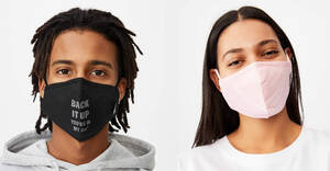 Featured image for Cotton On is now selling S$9.99 reusable cotton masks. Choose from 8 designs