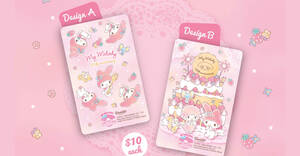 Featured image for EZ-Link to release two new My Melody cards across selected Cheers outlets from 29 July 2020