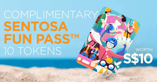Featured image for Sentosa is giving away free Sentosa Fun Passes in celebration of National Day 2020