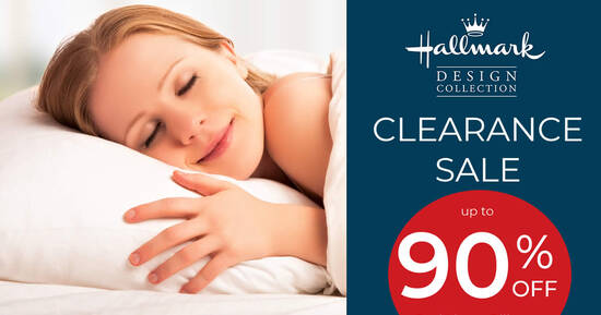 Featured image for Hallmark Showroom Clearance Sale from 30 July to 2 August 2020