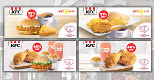 Enjoy special deals at KFC with these NDP 2020 coupon deals valid till 30 September 2020