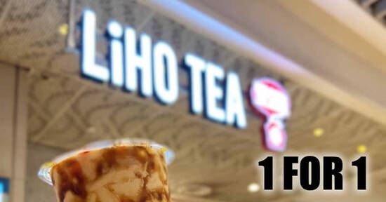 Featured image for LiHO: Enjoy 1-for-1 on six selected drinks at all outlets on Thursday, 1 October 2020