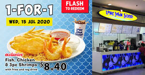Long John Silver's Wednesday 1-for-1 promotion to return on Wednesday, 15 July 2020