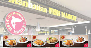 Enjoy special deals at The Manhattan FISH MARKET with these NDP coupon deals valid till 30 September 2020