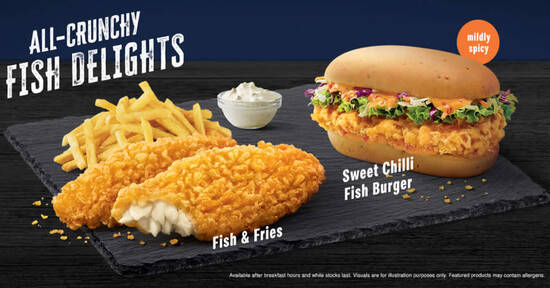 Featured image for McDonald's brings back Fish & Fries, Sweet Chilli Fish Burger & more from 30 July 2020