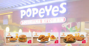 Popeyes: NDP special coupon deals for dine-in and takeaway valid till 30 September 2020