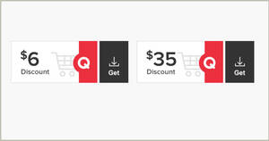 Qoo10: Grab free $6 and $35 cart coupons till 12 July 2020
