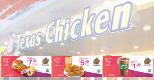 Enjoy special deals at Texas Chicken with these NDP coupon deals valid till 31 October 2020