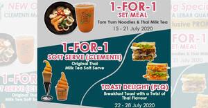 Tuk Tuk Cha 3-week Opening Specials at Clementi Mall & Paya Lebar Quarter till 4 August 2020