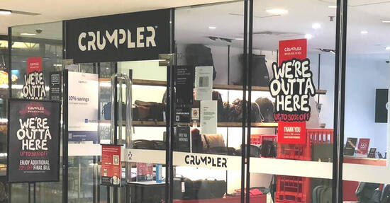 Featured image for Crumpler closing down at Wheelock Place - save up to 50% off and an additional 20% off all SALE items till 20 Aug 2020