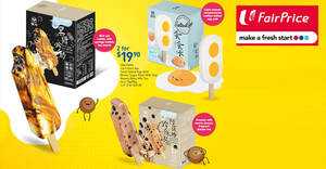 Fairprice: Grab Yaa Fang Ice Cream Bars at 2-boxes-for-$19.90 at selected NTUC FairPrice outlets till 20 Aug 2020