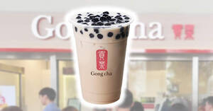 Gong Cha: Save $1.10 off every purchase of Large-sized Pearl Milk Tea this weekend from 8 – 10 August 2020