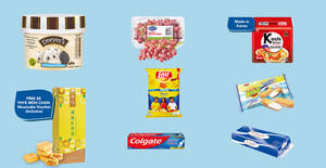 NTUC Fairprice is having Buy-1-Get-1-Free offers on Lay's, Dreyer's ice cream, Colgate & more till 12 August 2020