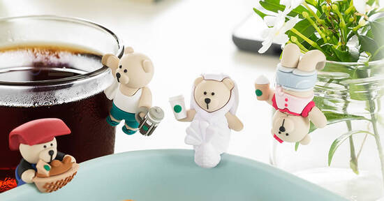 Featured image for Starbucks S'pore is launching Bearista Cup Clips and more from 3 August 2020