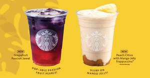 Starbucks: Say hello to new fruity and refreshing sips from 12 August 2020