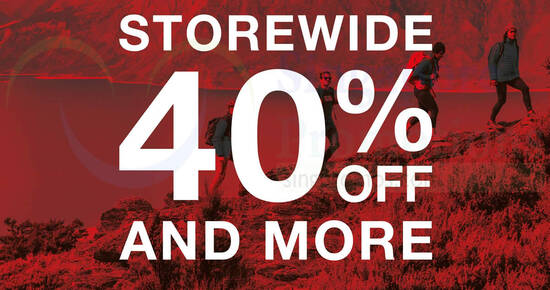 Featured image for The North Face: 40% off storewide sale plus additional 5%/10% off with min 2/3 items purchase from 25 - 30 August 2020