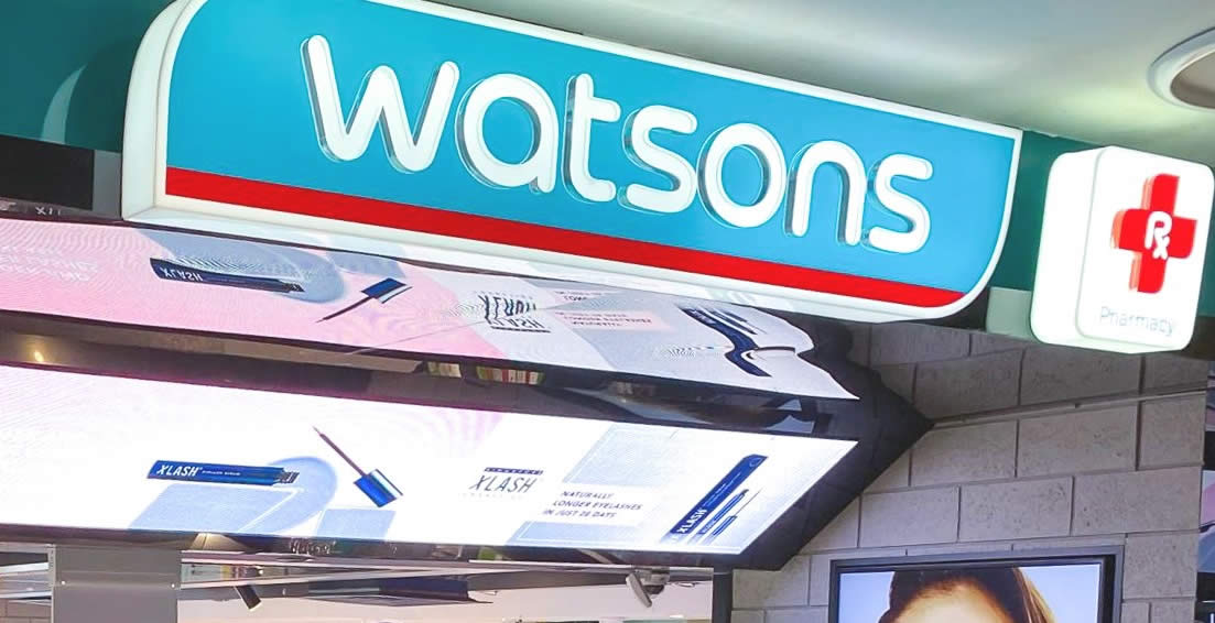 Featured image for Watsons: Get $27 off $125 spend or $47 off $185 spend at online store with these codes till 7 July 2021