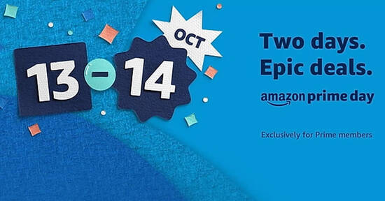Featured image for Amazon's Prime Day Returns to Singapore from 13 - 14 October 2020