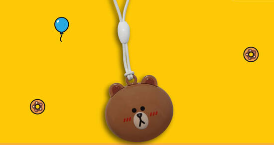 Featured image for EZ-Link releases new LINE FRIENDS Brown Ez-Link Charm at selected Cheers outlets (From 18 September 2020)