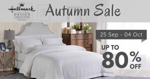 Hallmark Bed & Bath Autumn Sale from 25 Sep – 4 Oct 2020