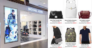 Michael Kors is running a storewide 70% off sale at IMM outlet till 23 September 2020
