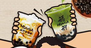 Featured image for Monga Fried Chicken S'pore to offer 1-FOR-1 Bubble Tea at all outlets from 5 – 13 Sep 2020