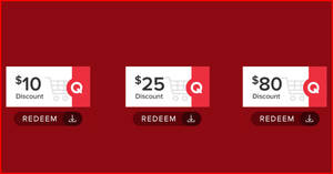 Qoo10 Event Cart Coupon Promotion – Grab $10, $25 & $80 cart coupons till 28 September 2020
