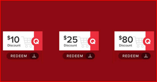 Featured image for Qoo10 Event Cart Coupon Promotion - Grab $10, $25 & $80 cart coupons till 28 September 2020