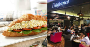 Delifrance: Grab the Egg D'vine Sandwiches at 2-for-$10.90 from 16 October 2020