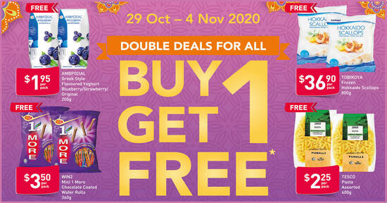 Featured image for Fairprice is offering 1-for-1 Frozen Hokkaido Scallops and more till 4 Nov 2020