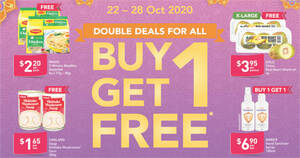 Fairprice is offering 1-for-1 Maggi 2-Minute Noodles and more till 28 October 2020