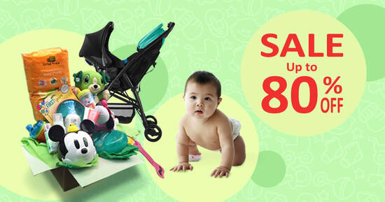 Featured image for Infantree Baby Warehouse Sale from 1 - 10 October 2020