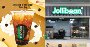 Jollibean: $1.50 (U.P. $3.20) Signature Brown Sugar Pearl Soy for PAssion Cardholders from 28 Oct – 27 Nov 2020