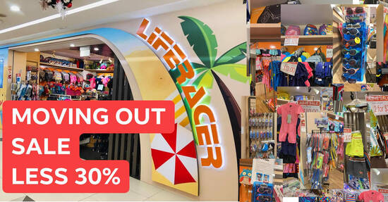 Featured image for Liferacer Swim Wears moving out sale at Bukit Panjang Plaza (Photos included) till 29 October 2020