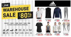 Link Warehouse Sale from 28 Oct – 1 Nov 2020