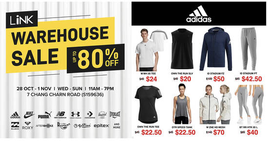 Featured image for Link Warehouse Sale from 28 Oct - 1 Nov 2020