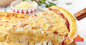 Pezzo: $1.50 (U.P. $4.90) Slice of Cheesy Cheese for PAssion Cardholders till 6 November 2020