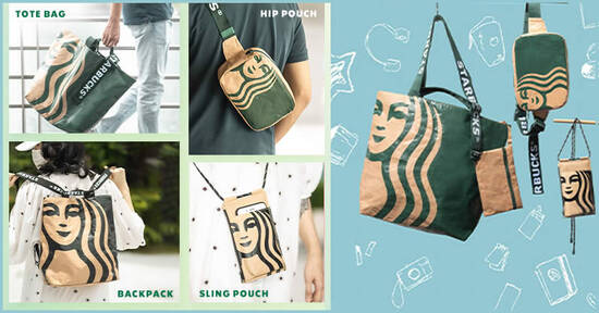 Featured image for Starbucks new Siren Bag collection will be available from 19 October 2020
