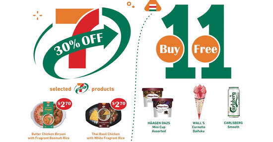Featured image for 7-Eleven celebrates 11.7 Day with free treats and great deals from 4 - 10 Nov 2020