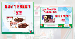 7-Eleven: 1-for-1 Häagen-Dazs Stickbar, Magnum Ruby/Luxe & more ice cream deals till 8 Dec 2020