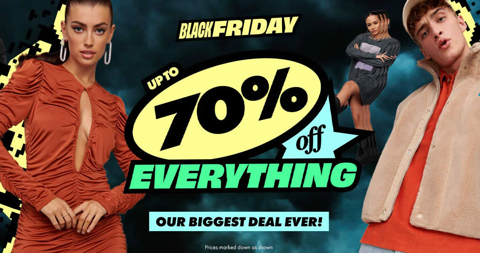 Featured image for ASOS: Up to 70% off storewide Black Friday promo till 1 Dec 2020