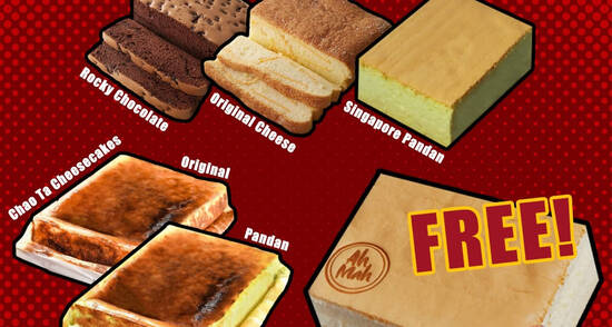 Featured image for Ah Mah Homemade Cake: Free Castella Cake with any purchase of two Homemade Cakes till 13 Nov 2020