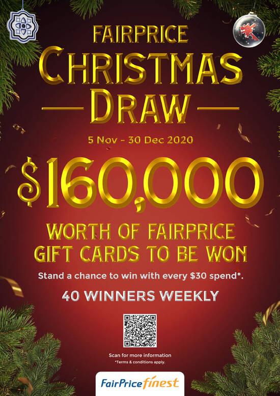 Fairprice Christmas Catalogue 2021 Ntuc Fairprice Christmas Catalogue 2020 Valid Till 30 Dec 2020 Batam Top Places